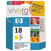 HP 18 YELLOW INK 625 PAGE YIELD FOR OJ PRO L7300, L7500